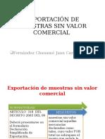 EXPORTACIÓN DE MUESTRAS SIN VALOR COMERCIAL.pptx