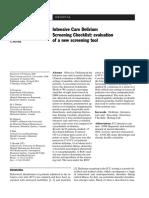 ICDSC Screening Tool Bergeron Int Car Med 2001 (Apr-17-08)