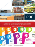 Instructivo de Mantenimiento Preventivo Para PDF