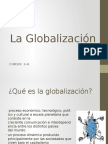 Globalizacion ppt