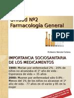 Unidad 2 Farmacología General