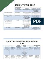 Assessment for 2016 Revised