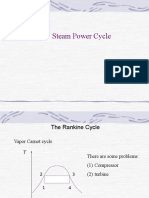 Steam Power Cycle