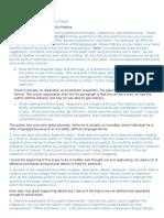 peer response for portfolio