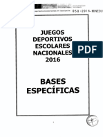 BASES ESPECIFICAS JDEN 2016 AJEDREZ