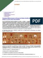 African History – Histoire Africaine Formules Efficaces Pour La Fusion Du Defunt Justifie Dans La Lumiere Divine_ Le Livre Sacre Des Kemites