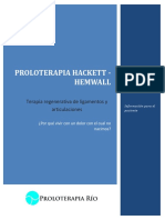 Proloterapia Hacket Hemwall