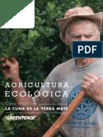 Agricultura Ecologica Caso Misiones