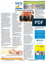 Pharmacy Daily for Mon 09 May 2016 - PSA peak body funding, NZ pharmacy ownership shake-up, Pharmacy bank alert, Weekly Comment and much more