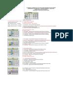 Calendário Acadêmico  2016 EaD Informática para Internet