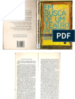 Em Busca de Um Teatro Pobre - Jerzy Grotowski - Livro Completo