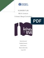 letras de uva business plan