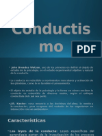 Conduct is Mo