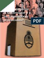 Sistema Electoral Provincial 2011
