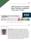 Ibmsametime9complete Basicfeaturesinstallation Fromzerotohero Fordominoldap Version1 131109042036 Phpapp02 (1)