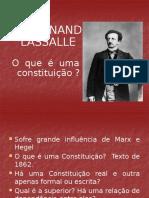Ferdinand La Salle - O Que é Uma Constituição
