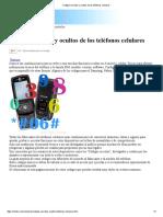 Códigos Secretvvgvvzhtrhdtzhzdtrhbzdrghrfgs<rgfvrsgvs<rgs<egvsgsegos y Ocultos de Los Teléfonos Celulares