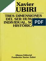 3 dimensiones del ser humano-Xavier Zaburi.pdf