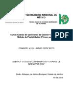 Analisis de Estructuras de Sección Variable Por El Método de Flexibilidades1sesiónDAVID ORTIZ SOTOCivilGeeks.com