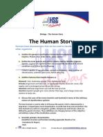 Biology the Human Story