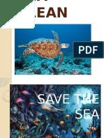 Keep Our Sea Clean