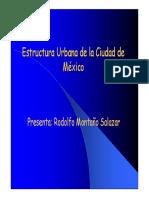 Estructura Urbana de la Ciudad de Mexico