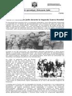 Guía de Aprendizaje Segunda Guerra Mundial EL Holocausto