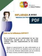 Medidas Prevenctivas AH1N1 2013