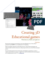 Creating 3d Games