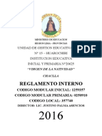 Ministerio de Educacion 2016