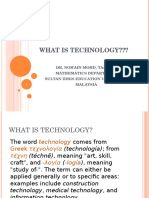 Week 1_What is Technology