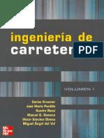 Ingeniería de Carreteras - Carlos Kraemer, José M. Pardillo, Sandro Rocci, Manuel G. Romana (Volumen I)