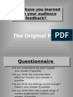 Media PowerPoint Evaluation