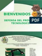 Defensa Proyecto Tecnologico