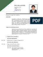 Curriculum Vitae Simple 2014-Docente - Copia