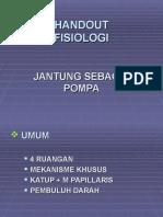 Handout Fisiologi