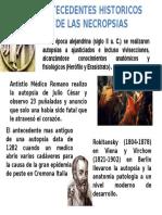 Antecedentes Historicos de Las Necropsias