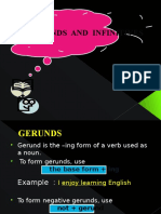 New Gerunds and Infinitives