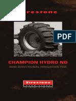 Champion Hydro ND Brochure