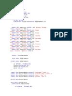 Create Database Clas