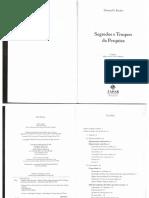 BECKER. Segredos e Truques Da Pesquisa (Cap. 1 e 2)