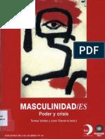 Masculinidades, Poder y Crisis - Teresa Valdés y José OlavarriaFlacso