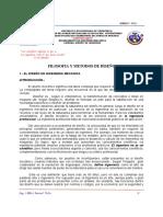 TEMA N° 01.- FILOSOFIA Y METODOS DE DISEÑO