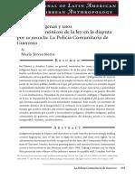 Sierra, María Teresa - Pueblos Indígenas y Usos Contra-hegemonicos de La Ley en La Disputa Por La Justicia