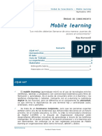 Mobile Learning Cast