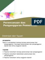2 Perencanaan Dan Penganggaran Daerah