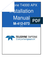 M-412-073 Rev B T4000 APX Setup Manual