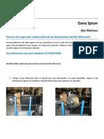 Inspección y Reparación de los Rodamientos del Eje Diferencial.pdf