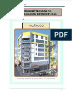 Informe Tecnico de Evaluacion Estructural 8 Pisos