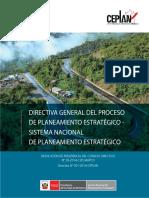 Directiva General Del Proceso de Planeamiento Estrategico - Sistema Nacional de Planeamiento Estrategico
